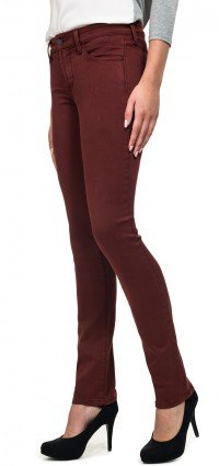 Alina Legging in dark red Super Sculpt