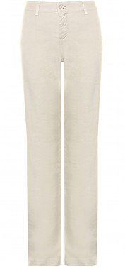 Claire Trouser in sand linen